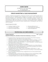 Marketing Manager Resume Examples Resume Examples For Marketing ...