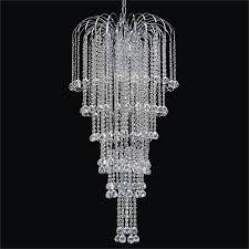 large waterfall chandelier cascade 532f by glow lighting