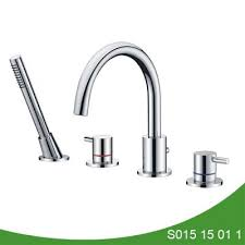 upc tub faucet with handheld shower