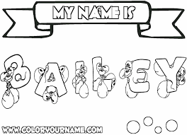 The file is editable so you can personalize it with your child or students' names. Coloring Names Color Fun