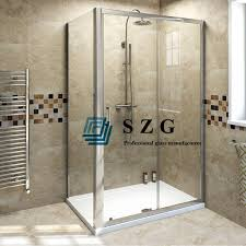 8mm clear toughened glass shower door 8mm clear tempered glass bathroom door 8mm transpa