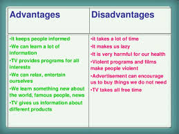 an essay on advantages and disadvantages of television essay help an essay on advantages and disadvantages of television