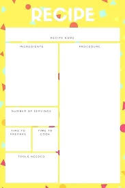 Blank Recipe Card Template Free Printable Templates Holiday ...