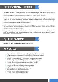 My Perfect Resume Free Beautiful Sample Resume For Entertainment
