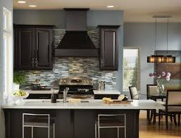 kitchen design amazing natural hardwood flooring amusing kitchen colors with brown cabinets popular paint for kitchens blue wall color and dark cabinet