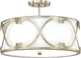 semi flush chandelier capital lighting winter gold semi flush flush mount light fixture loading zoom semi semi flush chandelier