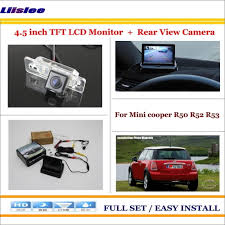 <b>Liislee</b> For Mini cooper R50 R52 R53 <b>Car Backup</b> Rear Camera + ...