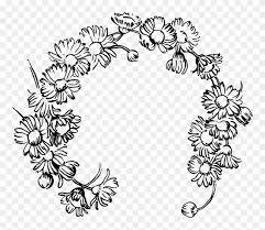 daisy chain daisy drawing clipart