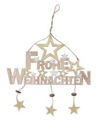 Holz Schriftzug Frohe Weihnachten Zum Aufhängen