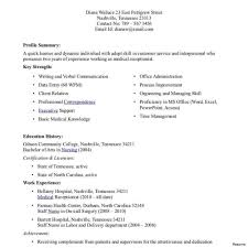Medical Assistant Resume Templates Examples Of Resumes For Medical Assistants Example Resume 7
