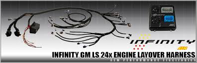 aem releases infinity overlay wiring harness for gm ls 24x engines for immediate release aem releases infinity overlay wiring harness for gm