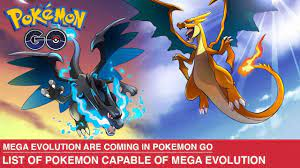 Mega Evolution are coming to Pokemon GO - List of Pokemon Capable of Mega  Evolution