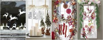 spectacular design ideas to decorate windows for christmas designs