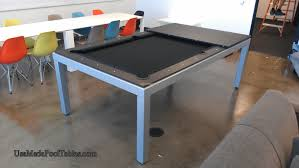 Pool And Dining Table Fusion Contemporary Pool Table Modern Pool Tables 7 8 Foot
