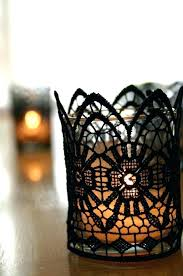whole votive candle holders small glass candle holder with tea light and black lace votive holders