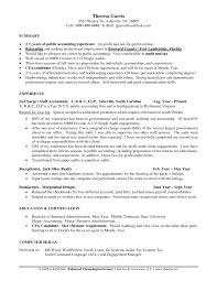 Templates Job Resume Certified Publicccountant Sampleuditor