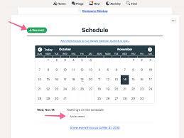 Schedule Calender Schedule Basecamp 3 Help