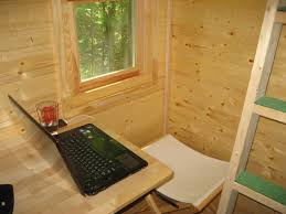 Tiny home office Backyard Life In 120 Square Feet The Tiny Home Office