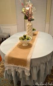 burlap round table runner charming circle table runner round table runner pattern runner for round table