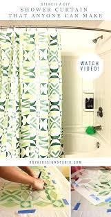 interdesign shower curtains design your own shower curtain how to stencil a shower curtain that anyone interdesign shower curtains
