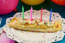 Birthday Cake Batter Ice Cream Crepes Food Meanderings