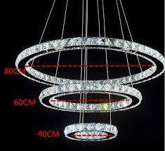 circular chandelier saint mossi modern led