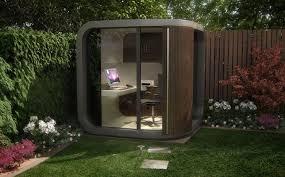 creative garden pod home office. Wonderful Pod Office POD Garden Shed Inside Creative Garden Pod Home O