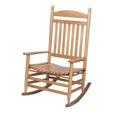 2017 rocking chairs at home depot within bradley maple jumbo slat wood outdoor patio rocking chair