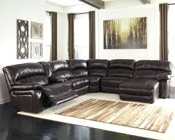 Black Leather Sectional Sofa With Recliner Black Leather Sectional Recliner And Sleeper 130 Trendy Cream