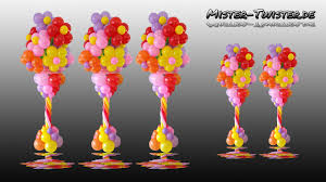 Columns For Decorations Balloon Flower Column Vase Decoration Ballon Blume Blumenvase