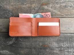 turrella kangaroo leather bifold wallet