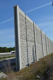 sound barrier walls. FDOT Is Constructing A Sound Barrier On The West Side Of I-75 Along Cattlemen Walls