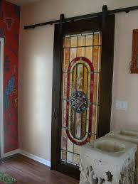 doors and windows stained glass sliding door