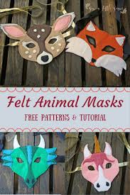 Free Felt Animal Patterns Magnificent Decorating Ideas
