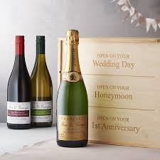 bar drinks wonderful wine for wedding personalised gift twin pack by bottle bazaar nice