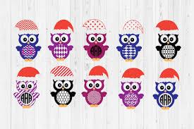 Christmas Owl Cut Files Graphic By Cutperfectstudio Creative Fabrica