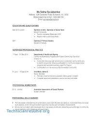 Social Work Resume Templates Extraordinary Sample Resume For Graphic Designer Social Work Resume Sample Resume