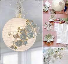 alluring paper lantern chandelier diy lamp flower ball learn how to