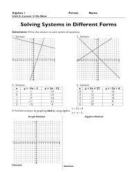 lesson 2 solving y mx b systems doc keynote powerpoint lesson 3 practice solving systems doc