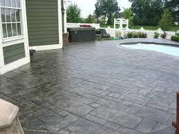 pressed concrete patio amazing stamped concrete patio design ideas remodeling expense imprinted concrete patio cost uk
