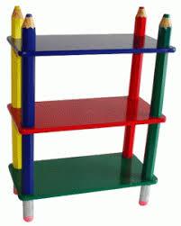 colorful kids furniture. Plain Colorful Kids Furniture Uniquely Colorful Pencil Bookcase By Beck  International In Furniture H