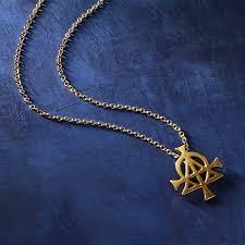 alpha omega pendant necklace pendant