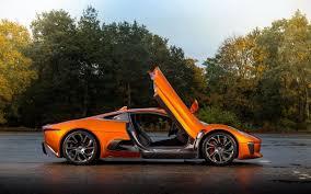 jaguar c x75 bond 007 car spectre doors open