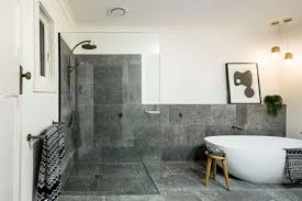 can i use natural stone in the shower