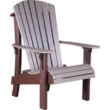 LuxCraft Recycled Plastic Adirondack Chairs Rocking Furniture