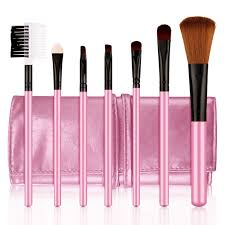 bioaqua 7pcs makeup brus makeup tools multipurpose cheek eyeshadow eyebrow professional foundation powder brush makeup brush set in makeup scissors from