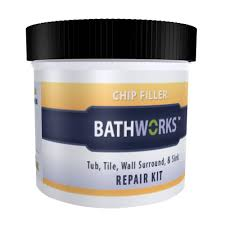 diy bathtub and tile chip repair kit
