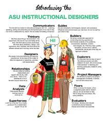 Asu Instructional Designers Infographic E Learning