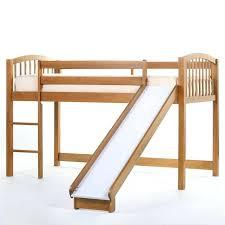 bunk bed slide schoolhouse junior loft with slide pecan loft beds at bunk bed slide diy