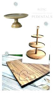 wood cake stand with glass dome wooden cake stand rustic wood with glass dome stands w